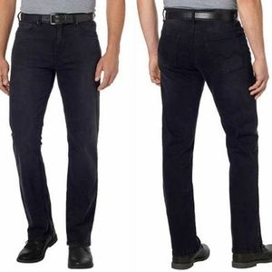URBAN STAR MEN'S RELAXED FIT JEANS Black NWT